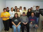Keewaywin Chief & Council with the Band Staff. 2003 (missing Alan Kp)